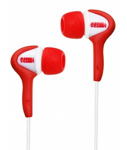 Skullcandy Smokin Buds Ear Buds Red/White - Discontinued Model