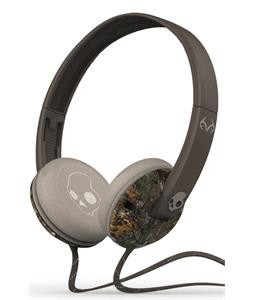 Skullcandy Uprock w/ Mic 1 Headphones Real Tree/Dark Tan/Tan