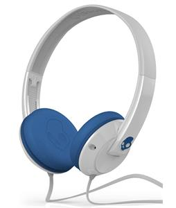 Skullcandy Uprock w/ Mic 1 Headphones White/Blue