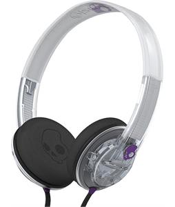 Skullcandy Uprock w/ Mic 1 Headphones Clear/Purple/Purple
