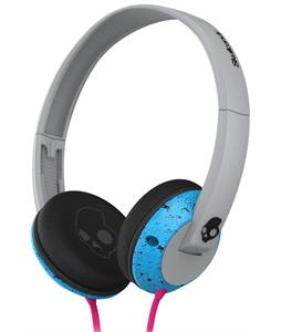 Skullcandy Uprock w/ Mic 1 Headphones Gray/Cyan/Black