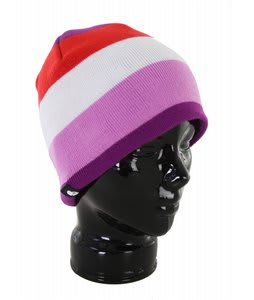 Skullcandy Zipatron Audio Beanie Purple White/Red
