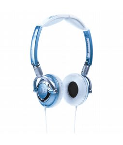 Skullcandy Lowrider Headphones Metallic Blue - Discontinued Model