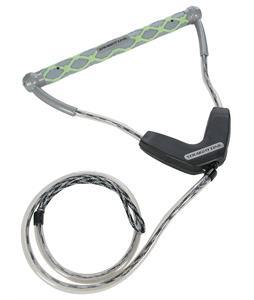 Straight Line B2-I Matrix Wakeboard Handle Grey/Lime