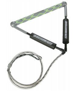 Straight Line B2-I Matrix Stiffy Wakeboard Handle Grey/Lime