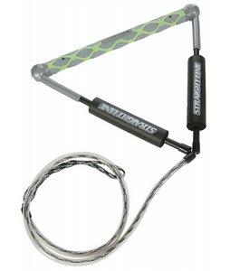 Straight Line B2-I Matrix Stiffy Wakeboard Handle Grey/Lime