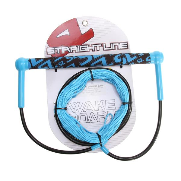 Straight Line Hydratak Wakeboard Handle w/ Dyneema Blue