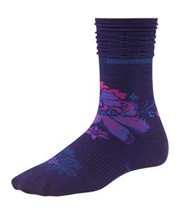 Smartwool Azalea Crew Socks Imperial Purple Heather