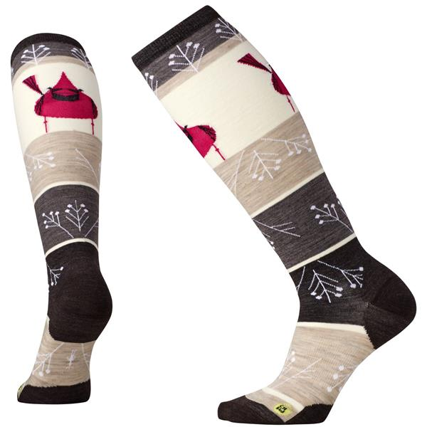Smartwool Charley Harper Cardinal Knee High Socks