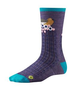 Smartwool Charley Harper National Park Poster Bird on Cactus Socks