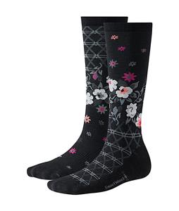Smartwool Cherry Blossom Socks Black