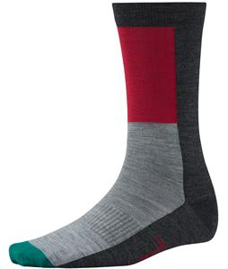 Smartwool Color Block Socks Charcoal Heather