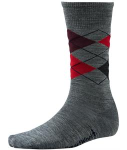 Smartwool Diamond Jim Socks Medium Gray Heather