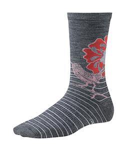 Smartwool Flowering Lark Socks Medium Gray