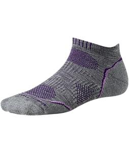 Smartwool PhD Outdoor Light Micro Socks Light Gray