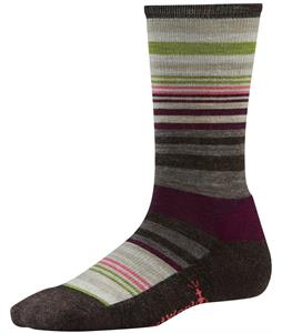 Smartwool Jovian Stripe Socks Chestnut Heather