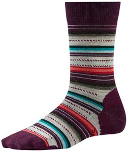 Smartwool Margarita Socks Aubergine Heather