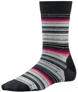 Smartwool Margarita Socks Black/Charcoal Heather