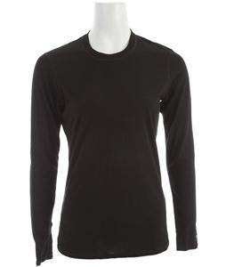 Smartwool Microweight Crew Baselayer Top Black