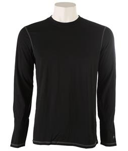 Smartwool NTS Micro 150 Crew Baselayer Top Black