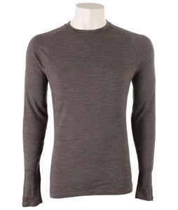 Smartwool NTS Mid 250 Crew Baselayer Top Taupe Heather