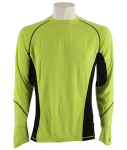 Smartwool NTS Light 195 Crew Baselayer Top Smartwool Green