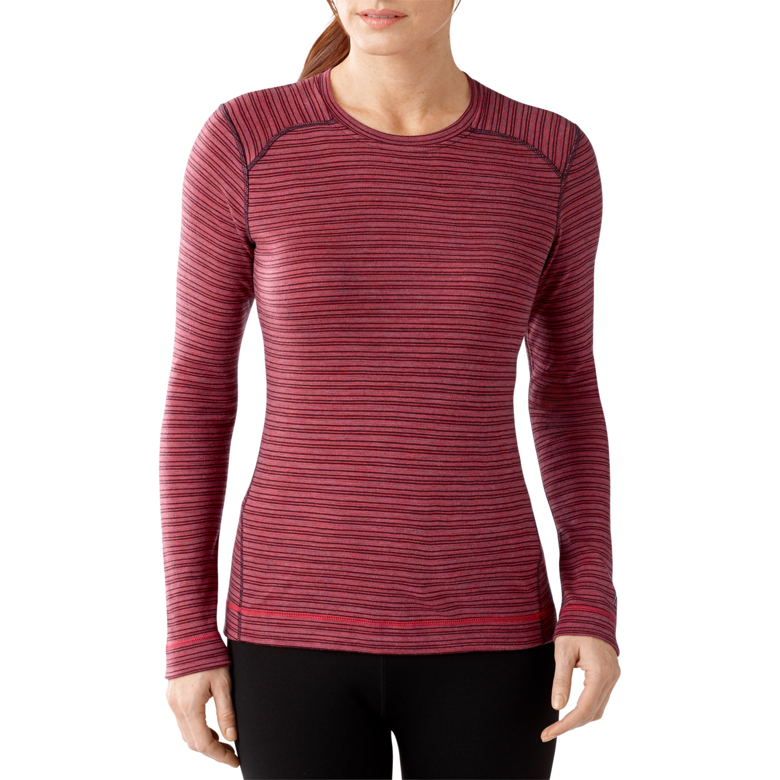 Smartwool NTS Mid 250 Pattern Crew Baselayer Top - Womens