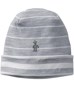 Smartwool NTS Mid 250 Reversible Pattern Cuffed Beanie Silver Grey Heather/Natural