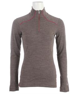 Smartwool NTS Mid 250 Zip T Baselayer Top Taupe Heather