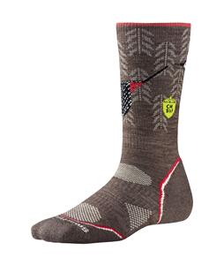 Smartwool PhD Outdoor Light Crew:Charley Harper Natl Pk Pstr Canyon Cty Socks