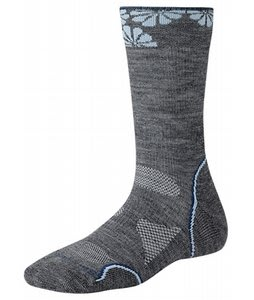 Smartwool Phd Outdoor Light Crew Socks Gray/Blue