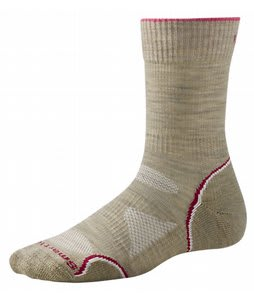 Smartwool Phd Outdoor Light Crew Socks Oatmeal