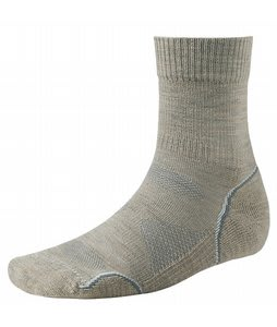 Smartwool Phd Outdoor Light Crew Socks Oatmeal/Natural