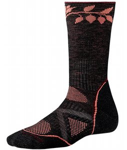 Smartwool Phd Outdoor Medium Crew Socks Charcoal