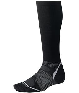 Smartwool PhD Ski Graduated Compression Ultra Light Socks Black
