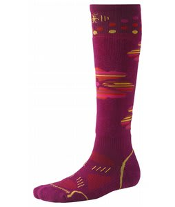 Smartwool Phd Ski Light Socks Claret