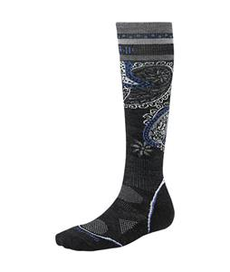 Smartwool PhD Ski Light Socks Charcoal
