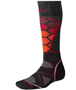 Smartwool Phd Ski Medium Socks Charcoal