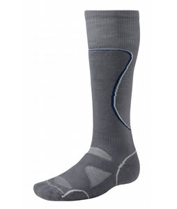 Smartwool Phd Ski Medium Socks Graphite/Royal