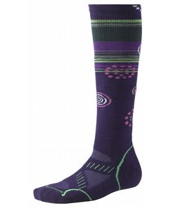 Smartwool Phd Ski Medium Socks Imperial Purple
