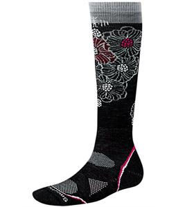 Smartwool Phd Ski Light Socks Black/Gray