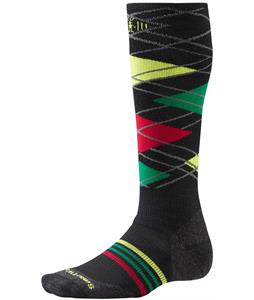 Smartwool PhD Slopestyle Diamond Lamb Socks Black