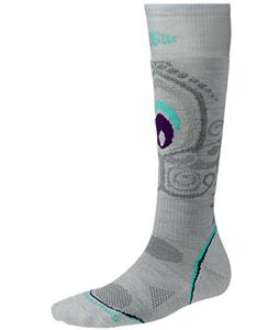 Smartwool Phd Snowboard Light Socks Silver