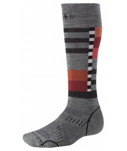 Smartwool Phd Snowboard Medium Socks Grey