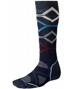 Smartwool Phd Snowboard Medium Socks Navy