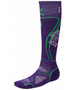 Smartwool Phd Snowboard Light Socks Grape