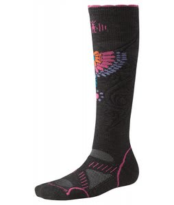 Smartwool Phd Snowboard Medium Socks Charcoal