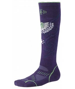 Smartwool Phd Snowboard Medium Socks Imperial Purple