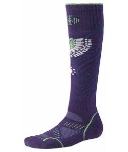 Smartwool Phd Snowboard Medium Socks Imperial Purple