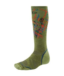 Smartwool PhD Snowboard Medium Socks Pesto